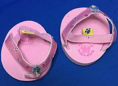 Build-A-Bear Workshop Pink thong sandals