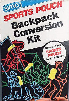 Sima Sports Pouch Backpack Conversion Kit, Convert Any Pouch to a Backpack