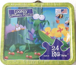 Wacky Bugs A Looney Lunchbox 24 Large Piece Puzzle