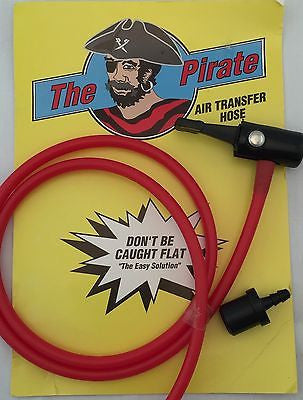 "The Pirate 1/4"" x 34"" Multi-purpose Air Transfer Hose"