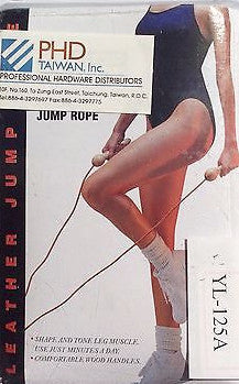 Exertect Fitness Leather Jump Rope