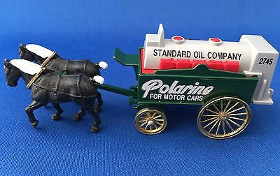 Chevron 1990 Standard Oil Company Polarine Horse Drawn Wagon