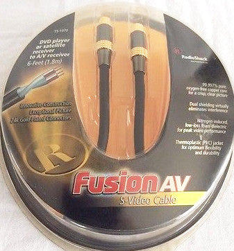 RadioShack Fusion S-Video Cable 6 feet