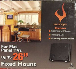 Verge Flat Panel TV Fixed Wall Mount Up To 26 Inches