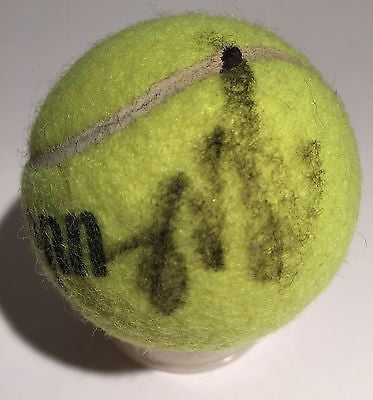 Anna Ivanovic No.6 Ranked Tennis Player Signed Tennis Ball Authentic Autograph