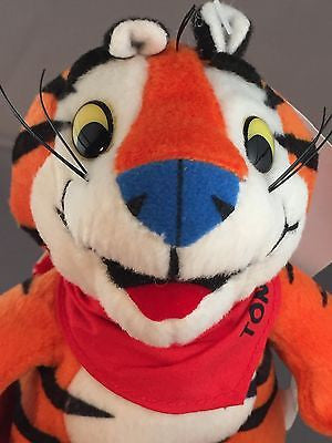 Tony The Tiger Plush Toy - 2000 6 1/2""