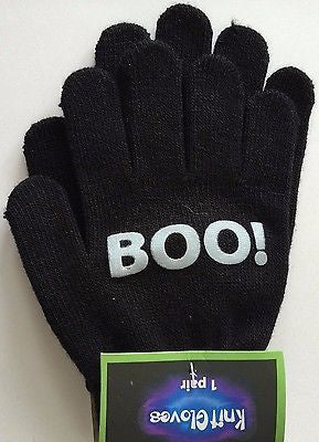 Black Boo Children's Gloves