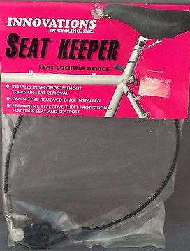 Cycling Seat Keeper Seat Locking Device
