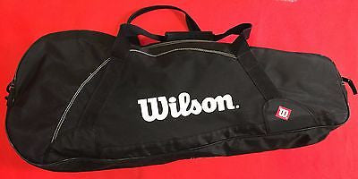 Wilson Black 6 Pack Tennis Raquet Bag