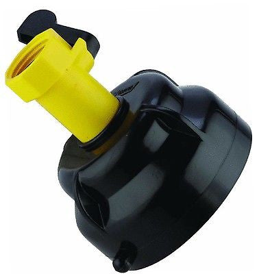 RV Trailer Camper Sewer Hose Rinser with Shut-Off Valve‏