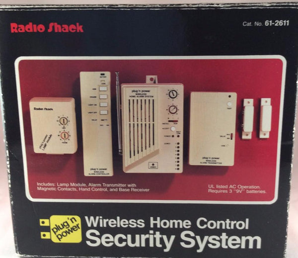 RadioShack Wireless Home Control Security System, 61-2611