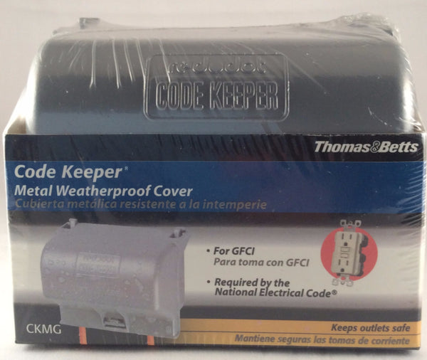 Red Dot Code Keeper, Metal Weatherproof Cover, CKMG