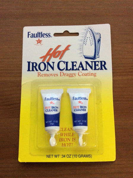 Faultless Hot Iron Cleaner, 2 Pack