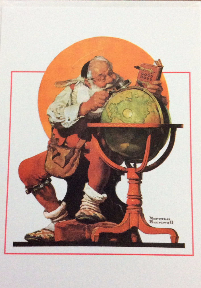 Christmas Cards by Norman Rockwell, Vintage 1993, American Classics ...
