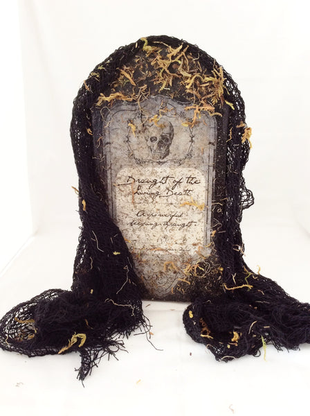 Halloween Tombstone, Halloween Tabletop Tombstone Decoration, Spooktacular Party Decoration