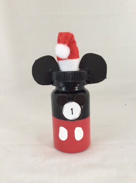 Mickey Mouse Advent Calendar, Handmade Mickey Ears, Mickey's Christmas, Disney Christmas
