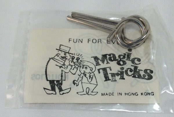 Magic Tricks, Wire Puzzle Game Card, No. 1593 - NEW