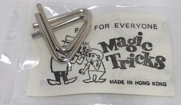Magic Tricks, Wire Puzzle Game Card, No. 409-1