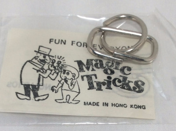 Magic Tricks, Wire Puzzle Game Card, No. 1580