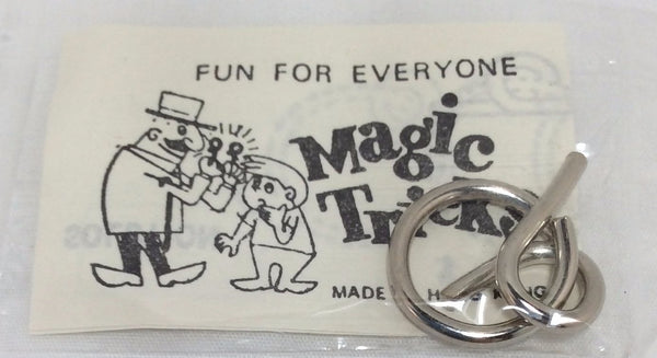 Magic Tricks, Wire Puzzle Game Card, No. 1592