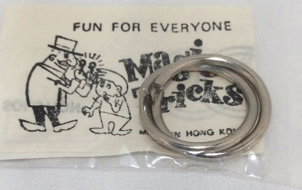Magic Tricks, Wire Puzzle Game Card, No. 1585
