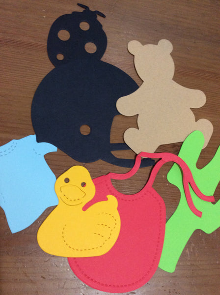 Paper Cut-Outs Assortment Scrapbook Cut-outs