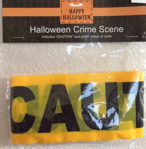 Halloween Crime Scene Caution Tape 2 Piece Set
