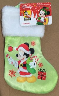 Disney Mickey Mouse Mini Christmas Stocking 8 Inch