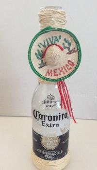 Cinco De Mayo Bottle Vase Centerpiece