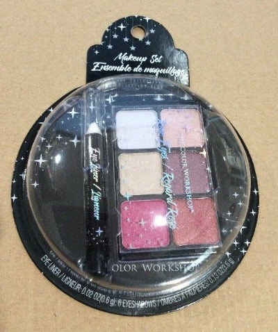 Markwins Makeup 3pc Set - Rose Eyes