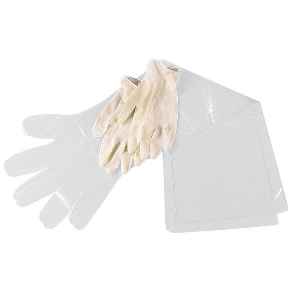 Mossy Oak Field Dressing Gloves & Shoulder Length form easy clean-up - Set of 2