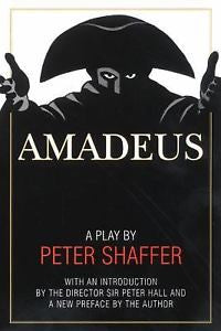 Amadeus, A Play By Peter Shaffer, Paperback