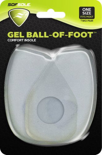 Sof Sole Gel Ball of Foot Comfort Insole