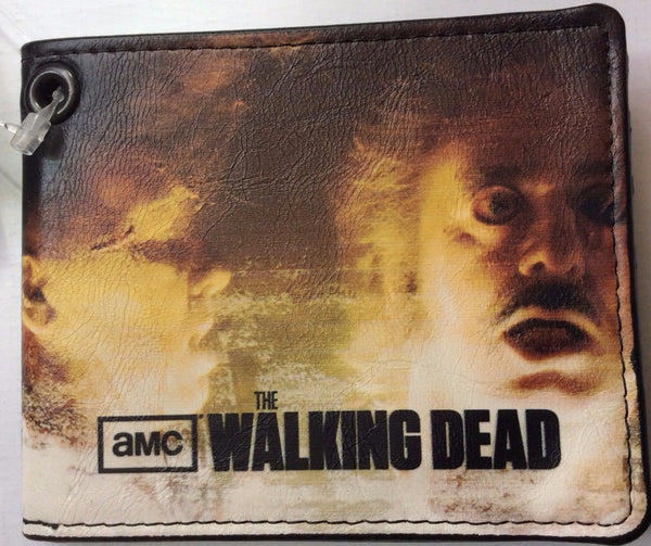 The Walking Dead Wallets Authentic AMC, Multi-color