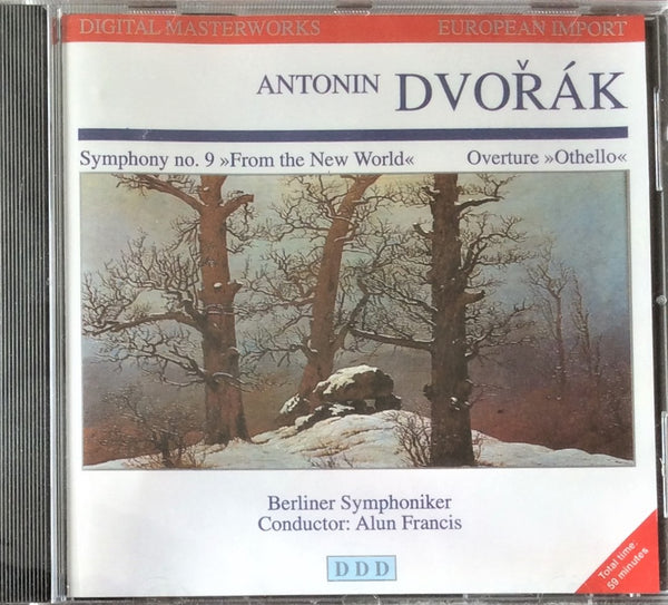 Antonin Dvorak, Symphony no 9, From The New World, Overture CD