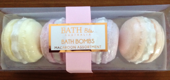 Bath Bits Australia Bath Bombs Macaroon Assortment Gift Set