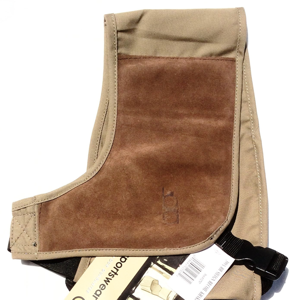 Bob Allen Shotgun Absorb-A-Coil Harness - Khaki Right Hand