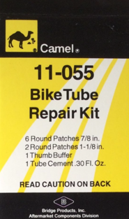 Camel 11-055 Bike Tube Repair Kit
