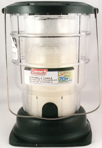 Coleman Repels Mosquitoes 70 Hours Citronella Lantern Candle