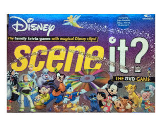 Disney Scene It? The DVD Game