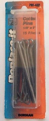 "Dorman Cotter Pins 1/8"" x 2"", Set of 15 Pins"