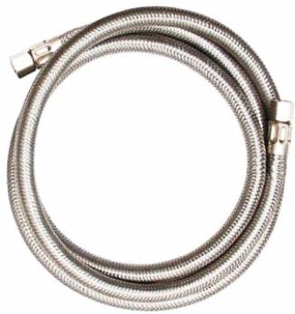 Eastman Ice Maker Connector 10ft., Stainless Steel Hose 0247028