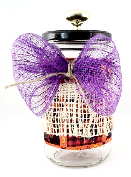 Halloween Candy Jar - Handmade