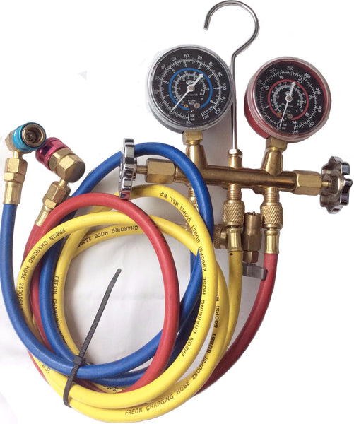 A/C Manifold Gauge Refrigeration Hose Air Conditioner