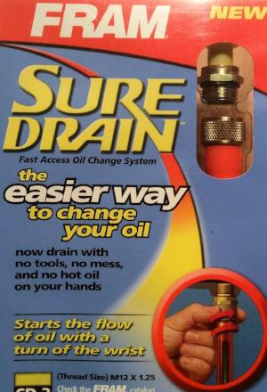 Sure Drain - Fast Access Oil Change System