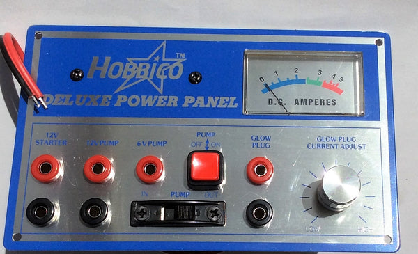 Deluxe power panel - 12 volt