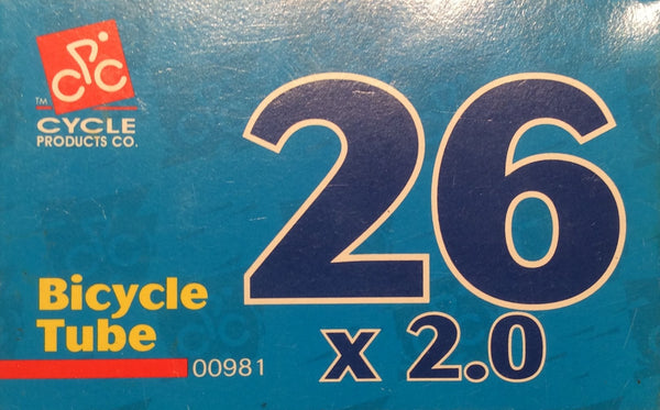 Bicycle Tube 26 x 2.0