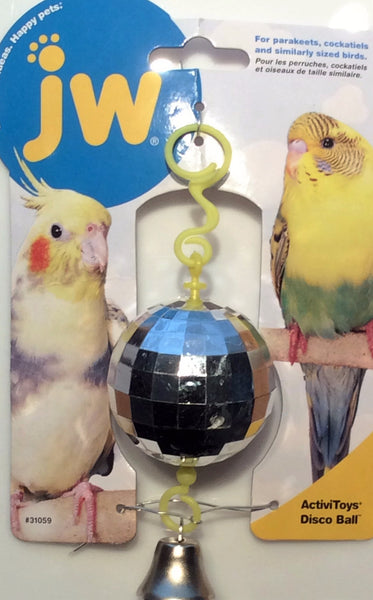 ActiviToys Disco Ball for Pet Birds