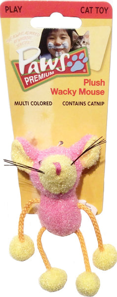 Plush Wacky Mouse - Cat Toy with Floppy Legs