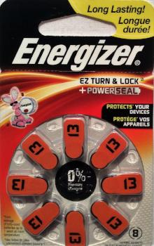 Hearing Aid Batteries #13 - 8 Pk
